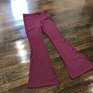 High Waisted Stretch Bell Bottom Flare Pants